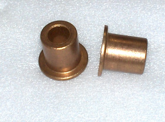Brass flange bushing quot id od over all