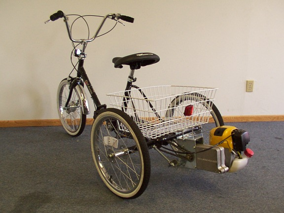 Worksman Cycle Tri Fecta Folding Trike