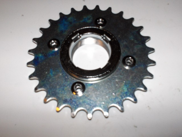 410 freewheel sprocket 27 tooth 1 2 x 1 8 dicta for Freewheel sprocket for electric motor