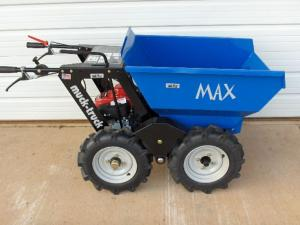 Muck max truck 800 lb dumper honda 5 5 hp 3 speed for Motorized wheelbarrows for sale