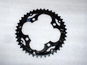 42 Tooth Chainring - Sprocket 104mm Four Bolt Steel SHIMANO HYPER DRIVE