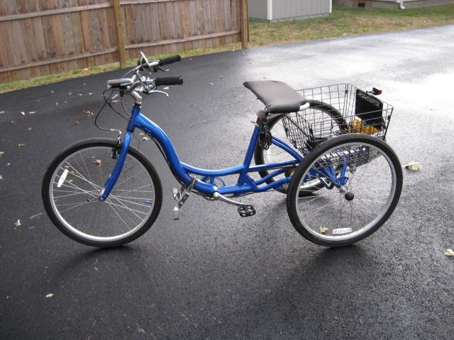 Schwinn Meridian kit with the Honda GX35 35 8cc Four Cycle Trike Engine -  Motor Kit