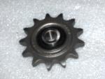 "Idler Sprocket 50 Chain 13 tooth 1/2"" ID Precision Ground Bearing"