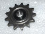 "Idler Sprocket 50 Chain 13 tooth 5/8"" ID Precision Ground Bearing"