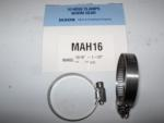 "Dixon MAH16 or # 16 mini Stainless Steel Hose Clamp.  5/16"" wide band."