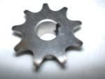 "410 B 09 Tooth Sprocket 1/2"" ID, 1/8"" keyway &  two set screws # 05-422 Powdered Metal"
