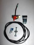 "Remote High Quality Toggle Stop - Kill Switch on Bracket 60"" Wire"