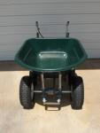 Motorized Wheelbarrow 8 cubic feet Tanaka PF-4000 Two Cycle Engine AG tires + Differential