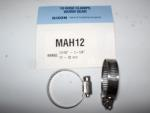 "Dixon MAH12 or #12 mini Stainless Steel Hose Clamp.  5/16"" wide band."