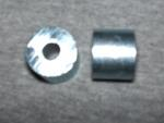 "Spacer Steel, 5/8"" OD x .60"" Long with 1/4"" hole, zinc plated."